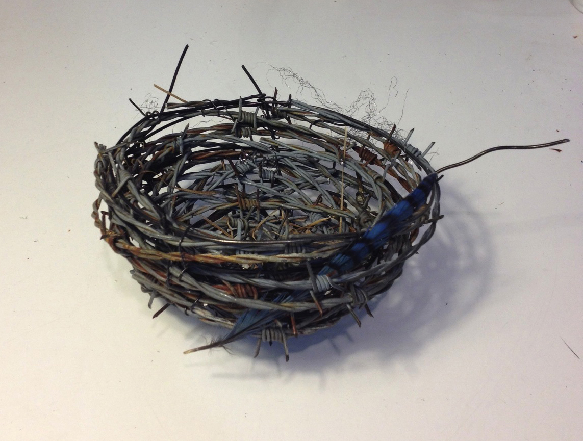09Barbed Nest with Feather